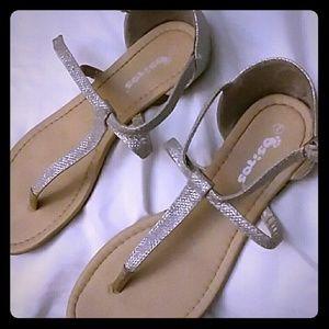 Shoes - Silver Sandals